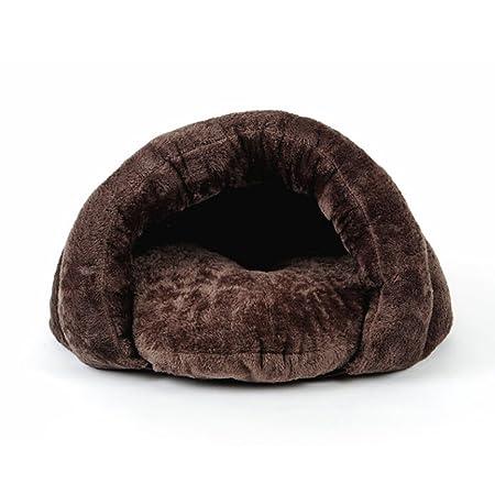 PETCUTE Cama de Perros Saco de Dormir de Perros caseta de Perros cálido cojin Nido de Gato: Amazon.es: Hogar