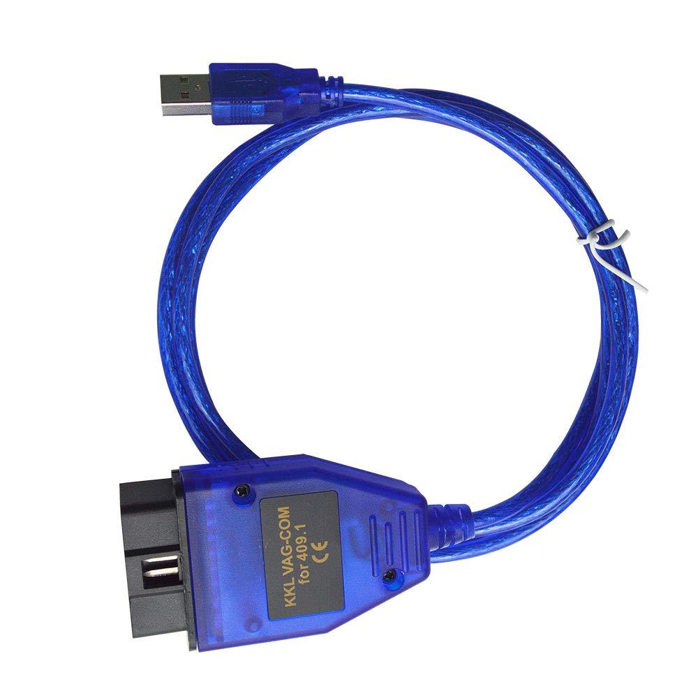 Mr Auto Cavo diagnostica VAG-COM KKL 409.1 Interfaccia USB Generic3 OBD20