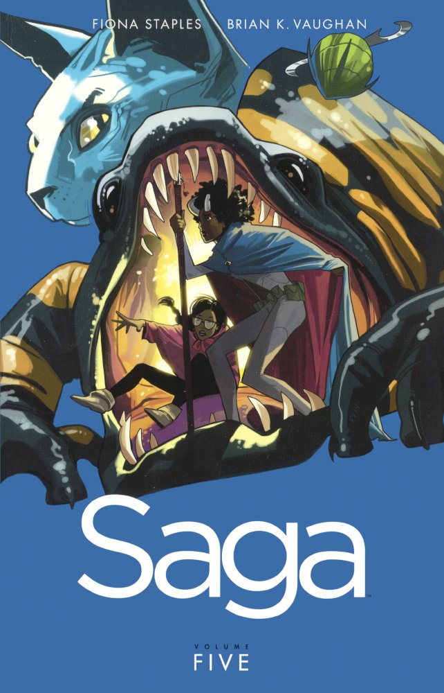 Download Saga, Vol. 5 (Turtleback School & Library Binding Edition) pdf epub