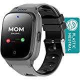Cosmo JrTrack Kids Smartwatch   Black   Voice & Video Call   GPS Tracker   SOS Alerts   Water Resistant   Blocks Unknown Numb