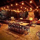 Outdoor Commercial String Lights- AMLIGHT 24 Ft