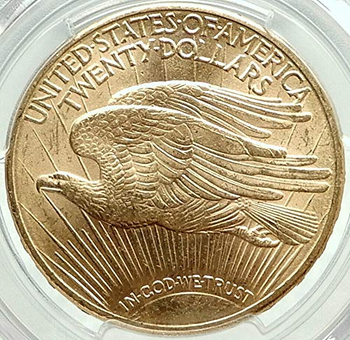 1910 1910 D UNITED STATES US Saint Gaudens Gold Double coin MS 64 PCGS