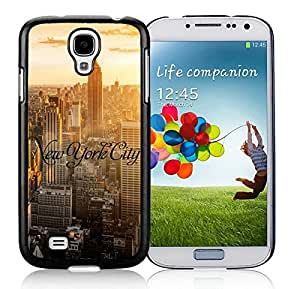 FAGUO Cute cell phone cases of New York City Samsung Galaxy S4 i9500 Case Black Cover