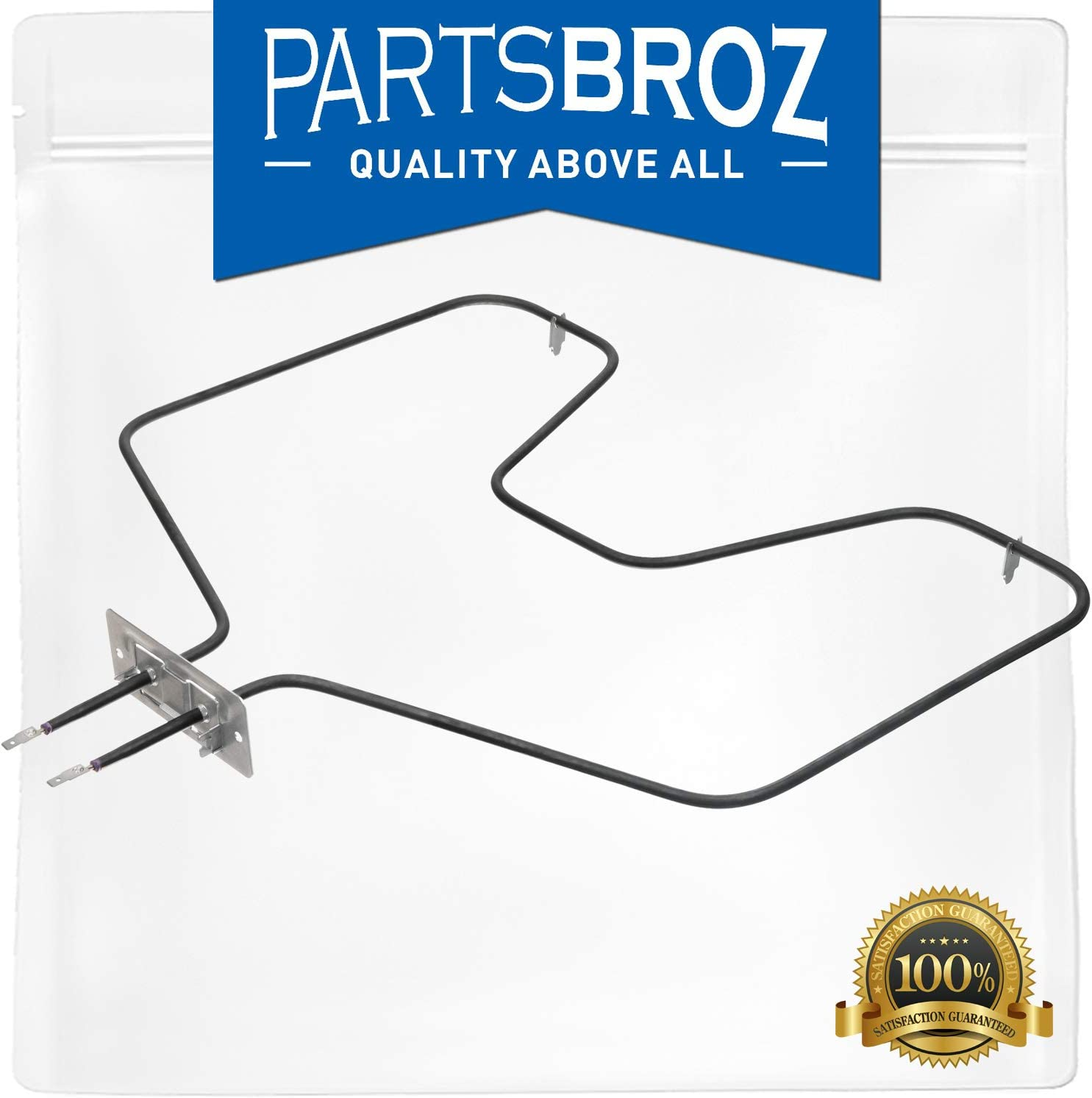 WB44X10009 Bake Element for GE Electric Range Ovens by PartsBroz - Replaces Part Numbers AP2031061, 260864, AH249344, EA249344 & PS249344