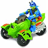 Turtles Teenage Mutant Ninja Turtles AT3 Vehicle and Exclusive Leonardo Figure