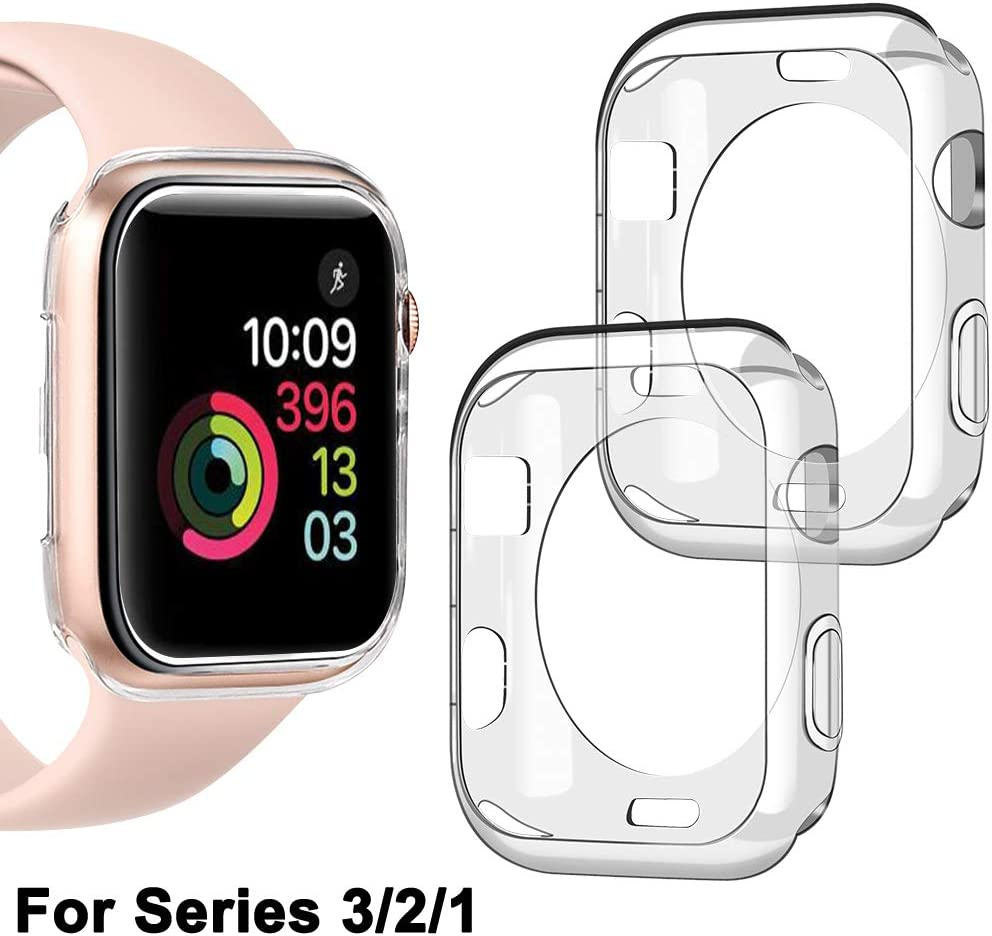 2 Pack] Apple Watch Series 2 (42mm Size