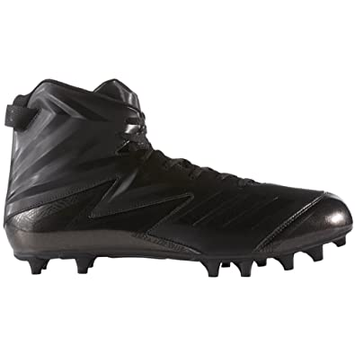 new style 001e4 d479b adidas Freak High Wide (2E) Cleat Mens Football 11.5 Black-Black-Black