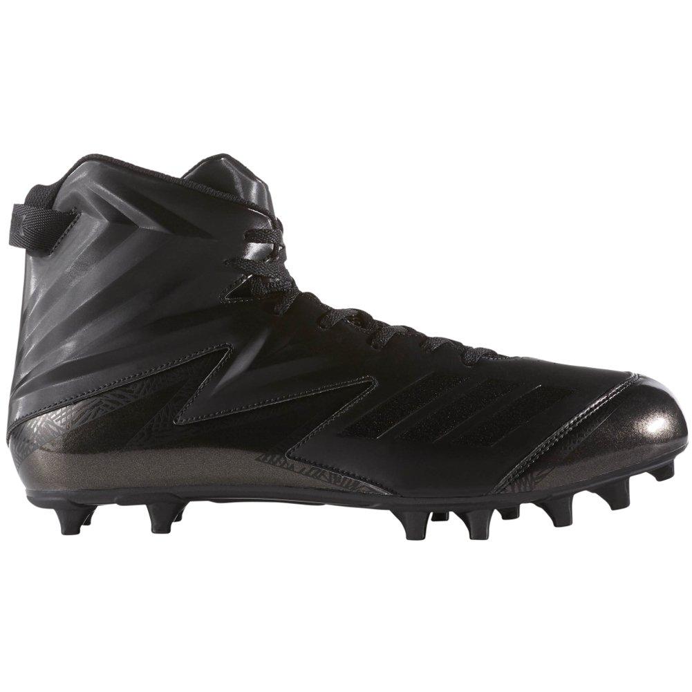 adidas Freak High Wide (2E) Cleat - Men's Football 17 Black/Black/Black