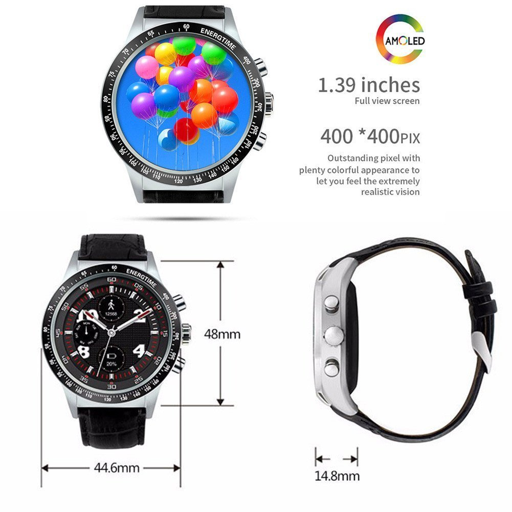 Amazon.com: Y3 Smart Watch for IOS7.0 Android 5.1 3G WiFi ...