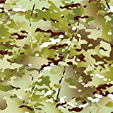 Hydrographics Film Hydro Dip Film Hydrographic Film Water Transfer Printing - Hydro Dipping Hydro Dip Kit Army Camo Dip Kit (Tan & Dead Flat Clear)