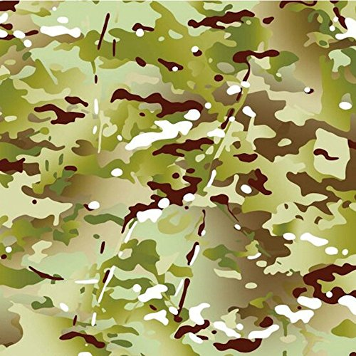 Hydrographics Film Hydro Dip Film Hydrographic Film Water Transfer Printing - Hydro Dipping Hydro Dip Kit Army Camo Dip Kit (Tan & Dead Flat Clear) by Southern Hydrographics