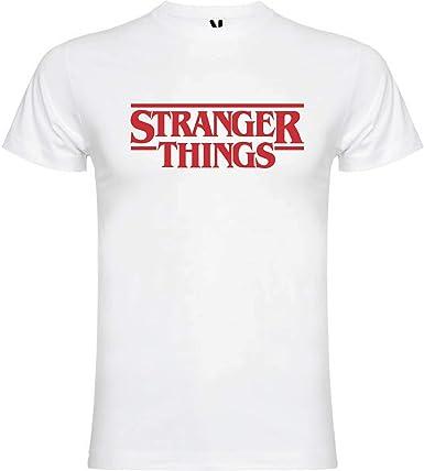 Camiseta Stranger Things Netflix Vinilo Textil Premium Unisex: Amazon.es: Ropa y accesorios