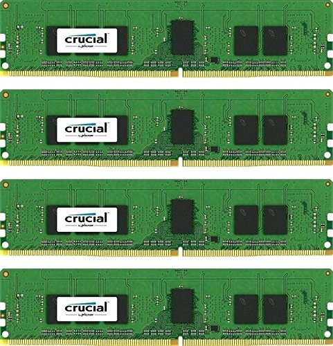 Crucial Technology 16GB (4x 4GB) 288-Pin - 512 Mb Registered Memory Shopping Results