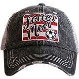 Katydid Soccer Mom Patch Trucker Hat