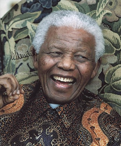 President Nelson Mandela (South Africa) Photograph Signed