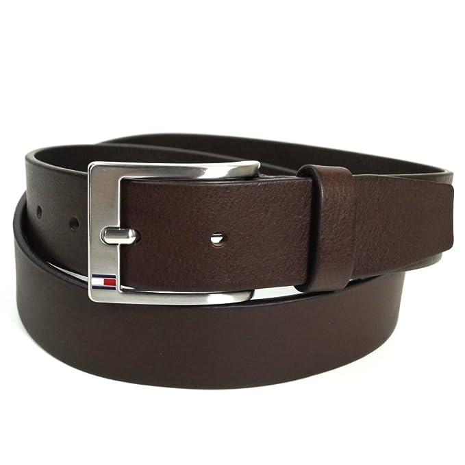 6f111874492d Tommy Hilfiger - Cinturón - para mujer, color Marrón, talla 85 cm:  Amazon.es: Ropa y accesorios