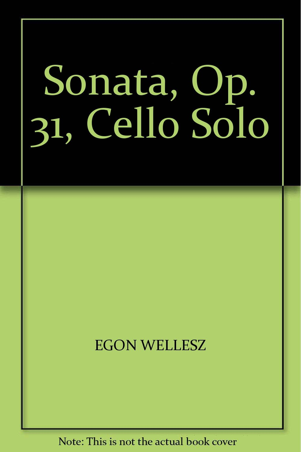 Read Online SONATA, OP. 31, CELLO SOLO ebook