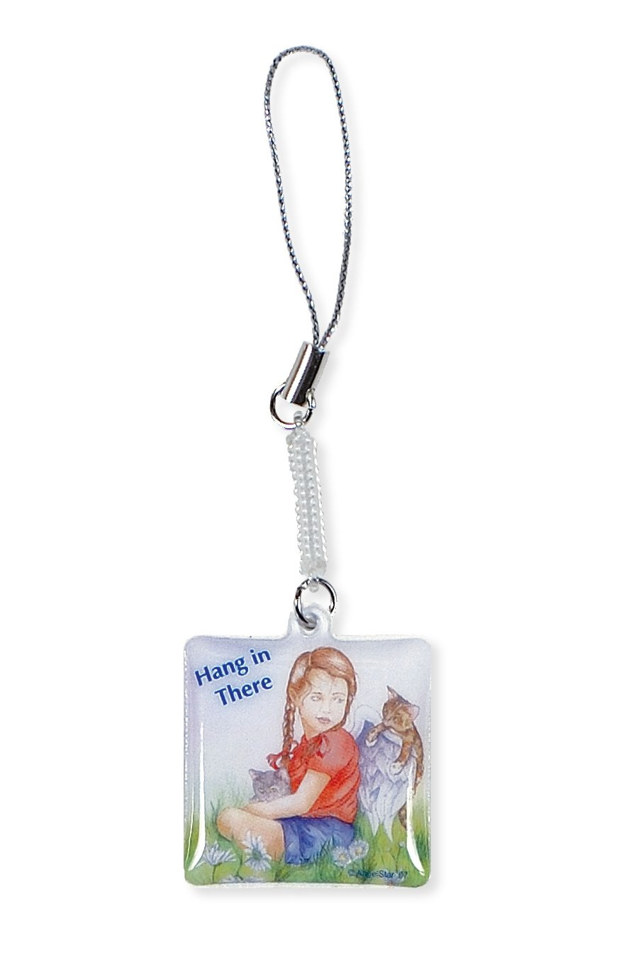 Angel Star Mobile Phone Cleaner Charm Hang in There
