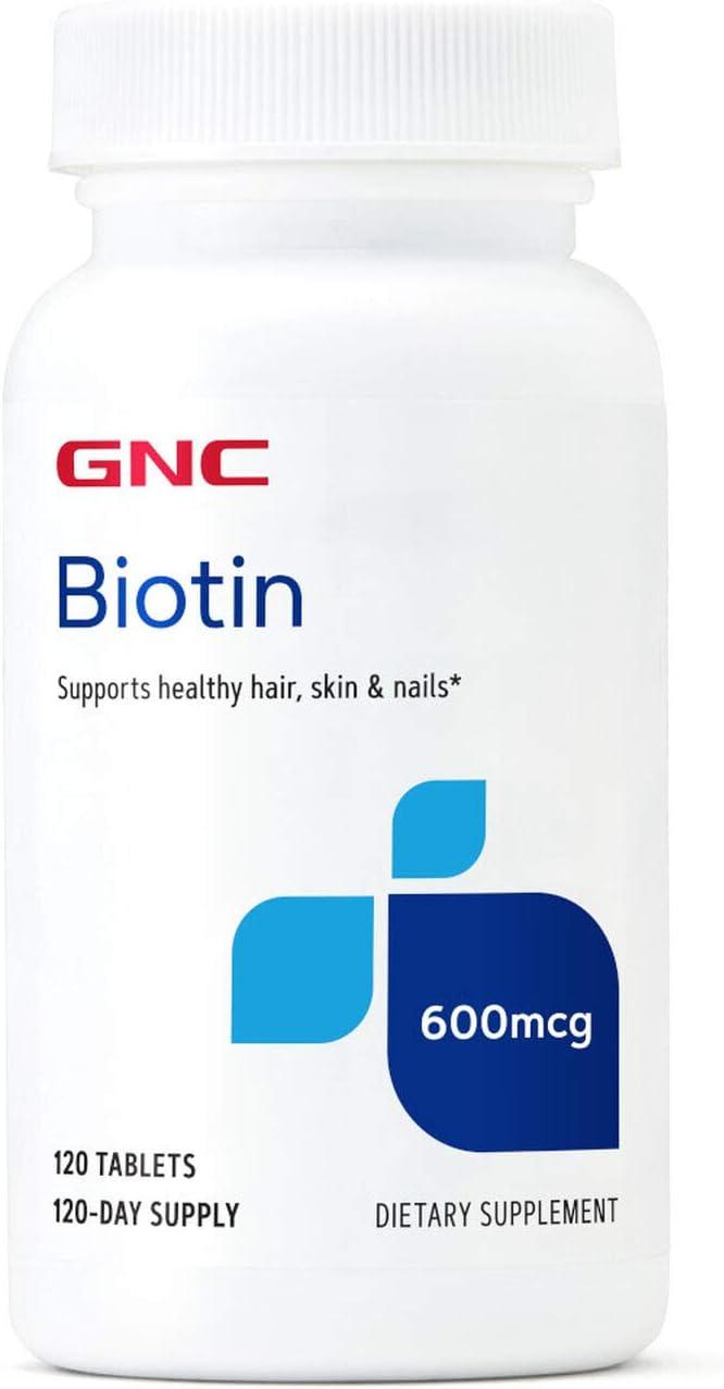 GNC Biotin 600mcg