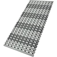 BEMISO Shower Mat Non Slip Bathtub Mat with Suction Cups and Drain Holes 39.4 x15.7 Inch Bath Mat for Tub & Shower.Easy…