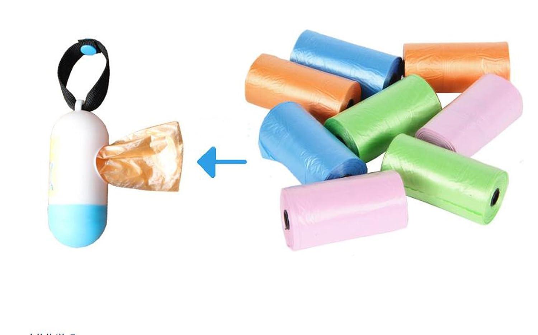 Portable baby diapers discarded bags,Disposable Diaper Refill Bags,Bulk Poop Bags on a roll,Clean up poop bag refills,+FREE Bone Dispenser, 220 Pet, FANVERIM