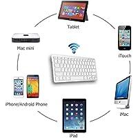Tec Tavakkal® Ultrathin 10 Metre Range Bluetooth Keyboard for iOS and Anroid Tablet IPAD Mobile