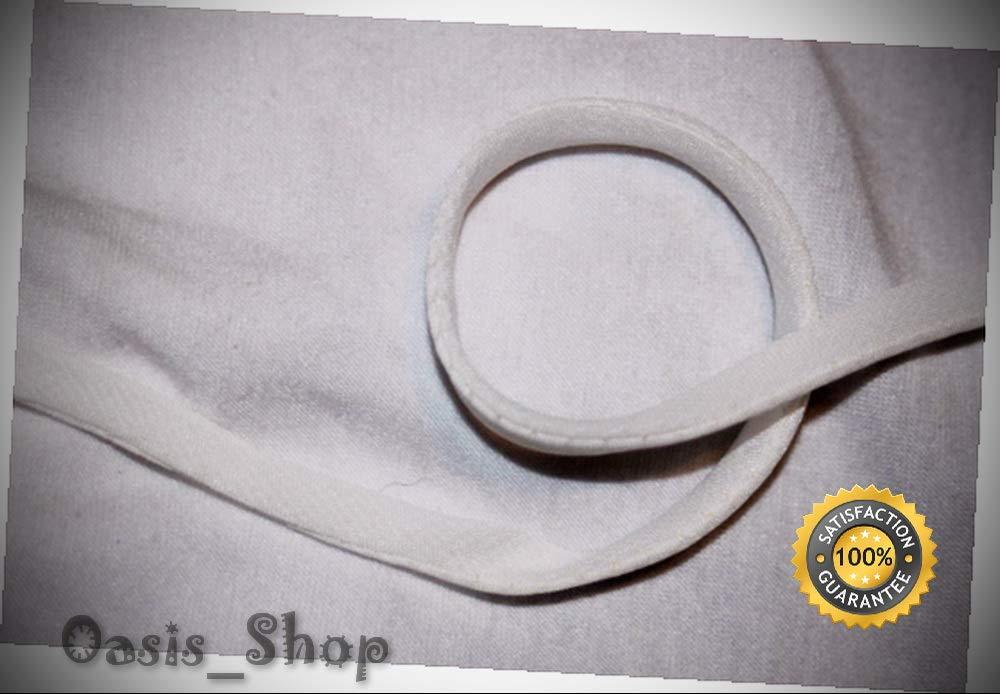 7 Yards White Chiffon Cord Cording Spaghetti Strap String 3/16'' Wide u898 - Ribbon Lyrical Dance Costumes, Sashes, Headbands by Oasis_Shop