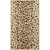 Safavieh MSR3621B Martha Stewart Collection Wool and Viscose Area Rug, 2-Feet 6-Inch by 4-Feet 3-Inch, Kalahari Horizon Sand Beige