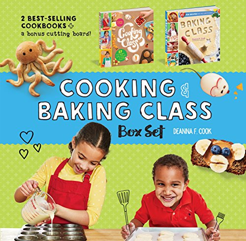 Cooking & Baking Class Box Set by Deanna F. Cook