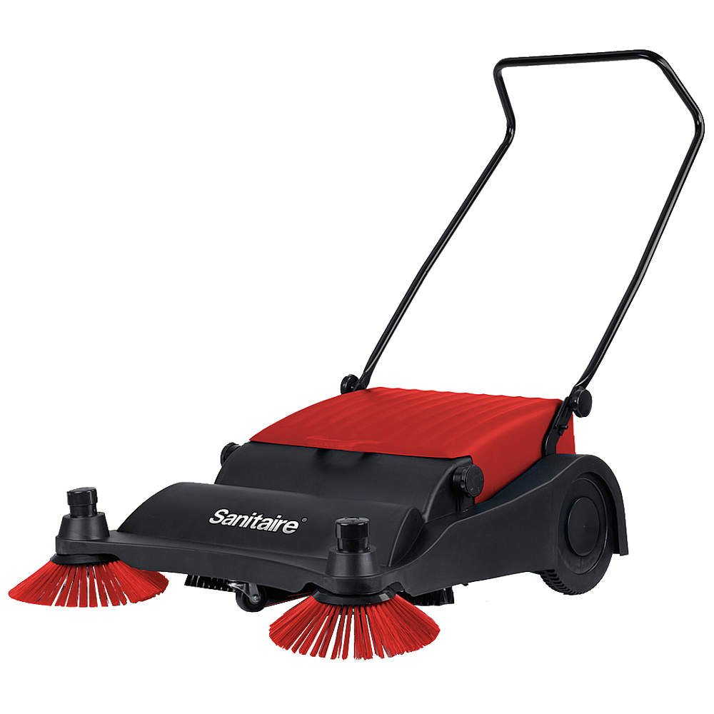 Push Sweeper, 32 in. by Sanitaire