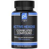 Premium Active Hexose Correlated Compound - Prodigy Life - 750mg per Serving, 120 Vegan caps