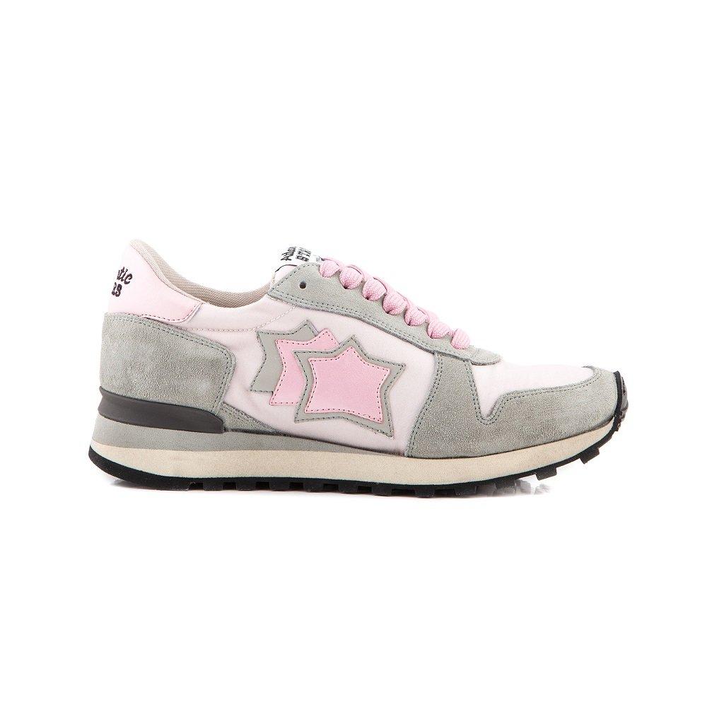 Atlantic Stars ALHENA, Damen Sneaker Pink RosaGrigio