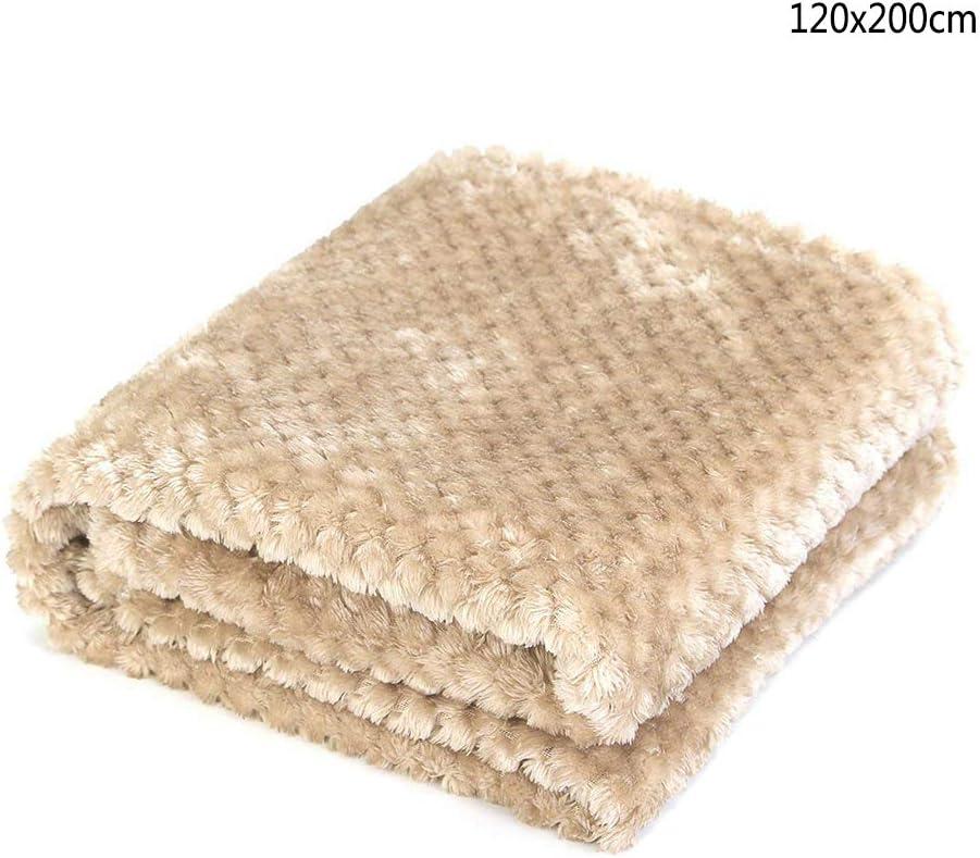 120x200cm, Coffee Conejos y Otras Mascotas PS051 Gatos PET SPPTIES Pet Manta Fluffy Fleece Manta Lavable para Animales Perros