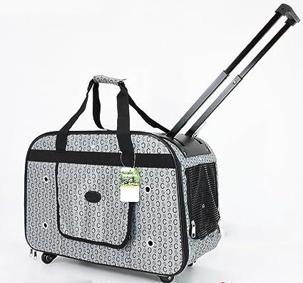 dde3f06026f7 Amazon.com : Pet Supplies YXGH Dog Trolley Case Pet Bag Trolley Bag ...