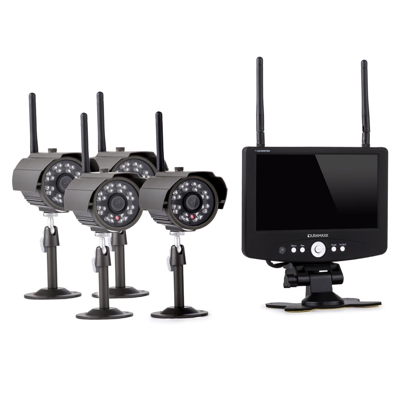 Gemütlich Kabelloses überwachungssystem Für 4 Kameras Bilder - Der ...