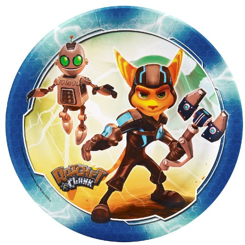 Ratchet and Clank Dinner Plates (8) ()