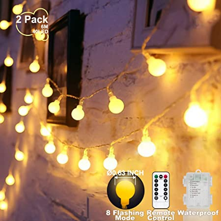 Amazon.com: YoTelim Globe&Star Lights - Lámpara de techo ...