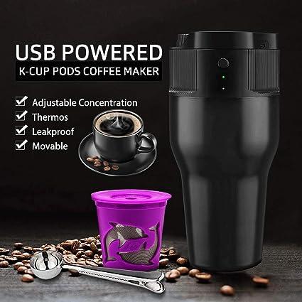 Cafetera portátil para café exprés, Mini máquina de café de Viaje ...