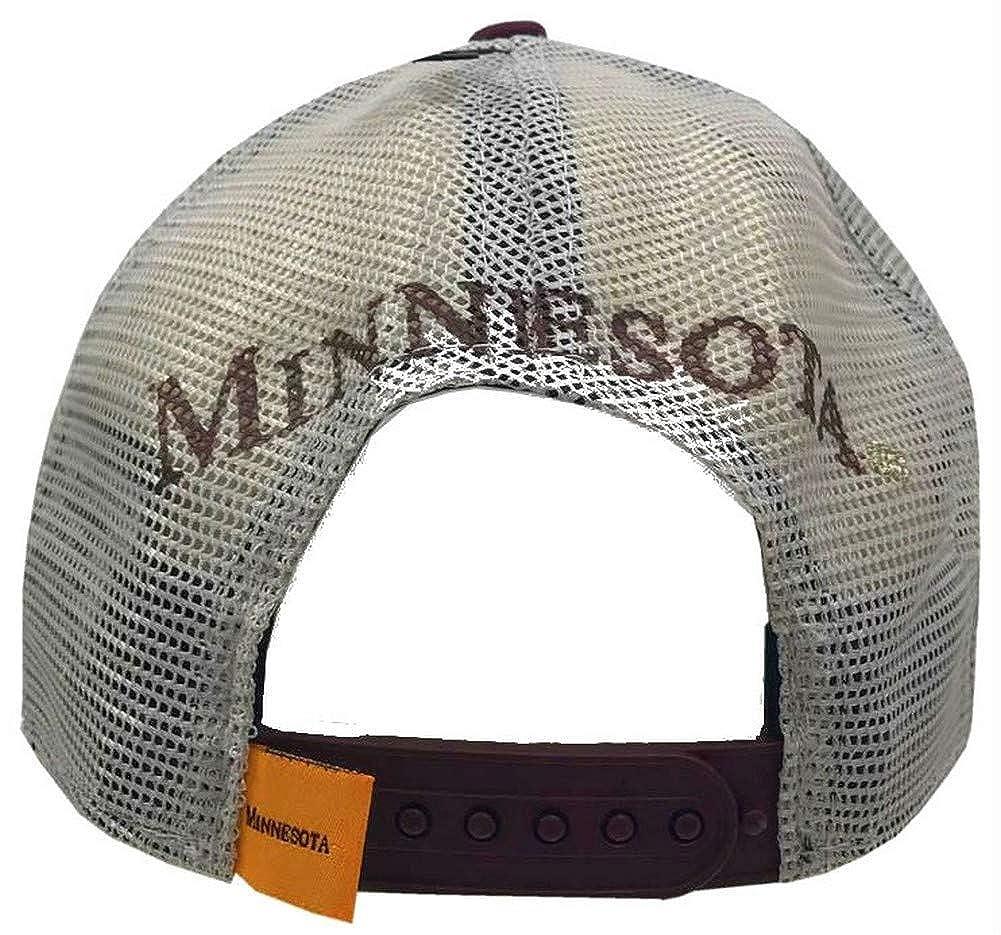 quality design 0109e 250d6 Amazon.com  New Era 2019 NCAA Minnesota Golden Gophers Baseball Cap Hat  Goldy Mesh Adjust  Clothing