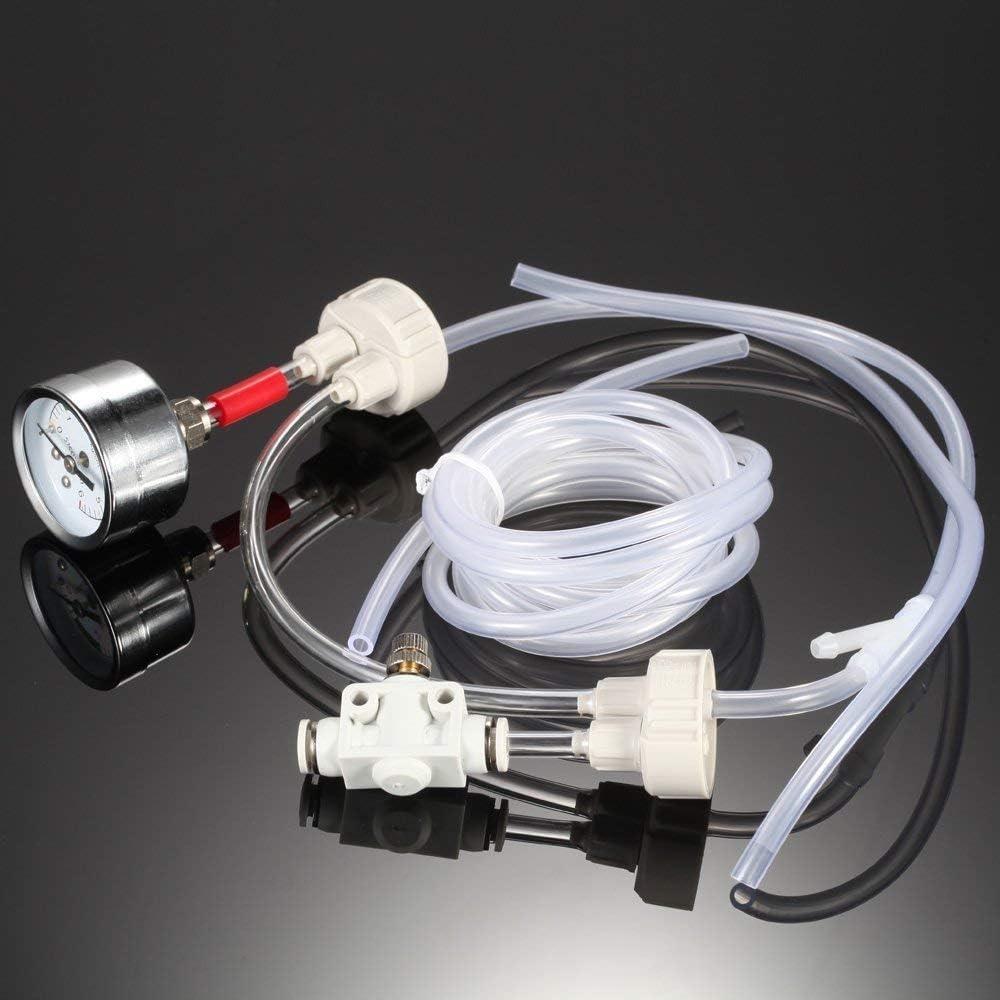 Empty Sistema Generador de CO2 Anself DIY Kit con presión de Aire Medidor de la Planta de Agua de la válvula de Ajuste del caudal