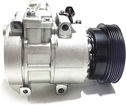SET A//C AC Compressor For Kia Rondo EX//LX 2007 2008 2.4L 97701-1D200 Great