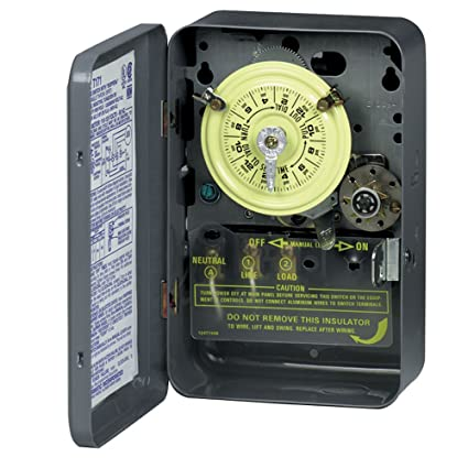 Intermatic T173 DPST 24 Hour 125-Volt Time Switch with Type 1 Indoor Enclosure