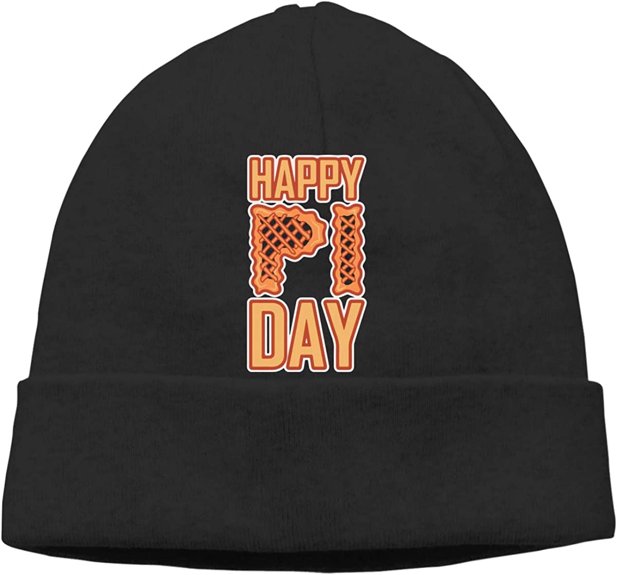Q10 Mens/&Womens Happy Pi Day Soft Beanie Hat Soft Hat