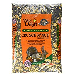 D&D COMMODITIES 362080 Wild Delight Crunch N Nut Squirrel Food, 8 lb