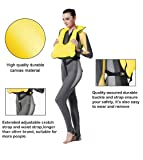 Faxpot Men/Women Snorkel Vest Adult Inflatable
