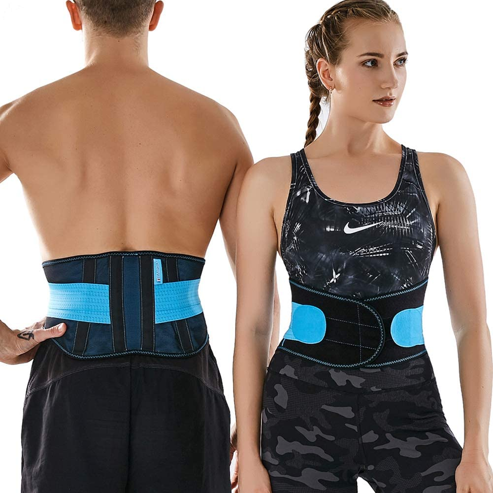 Adjustable Flexible Sport Girdle for Waist Trimmer Women Men Waist Trainer Belt,TIMTAKBO Lower Back Brace Lumbar Support for Lower Back Pain Relief