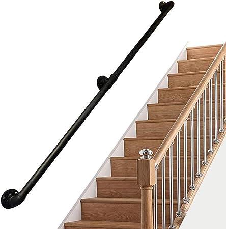 Leilims Prima de Escalera Barandilla Barandilla Kit Elija una Talla - 30~300cm de Seguridad Escalera Barra de Pared Barandilla de balcón, escaleras o parapeto (Size : 50cm): Amazon.es: Hogar