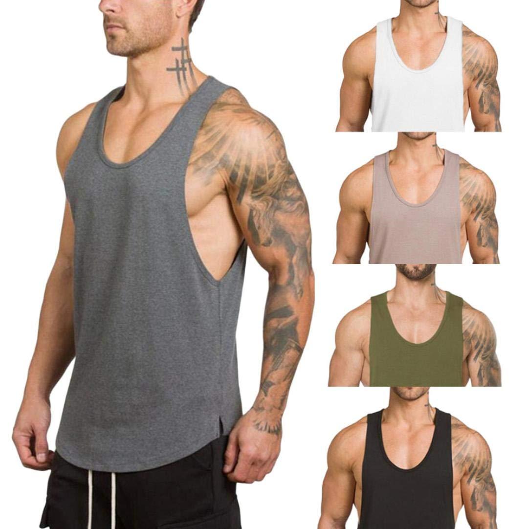 4636f56c42d7b Gym Vest Men Bodybuilding