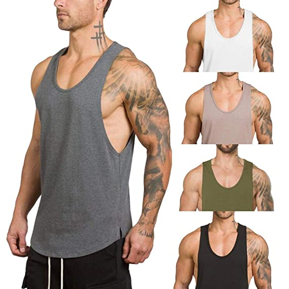 7a5dffac566655 Gym Vest Men Bodybuilding