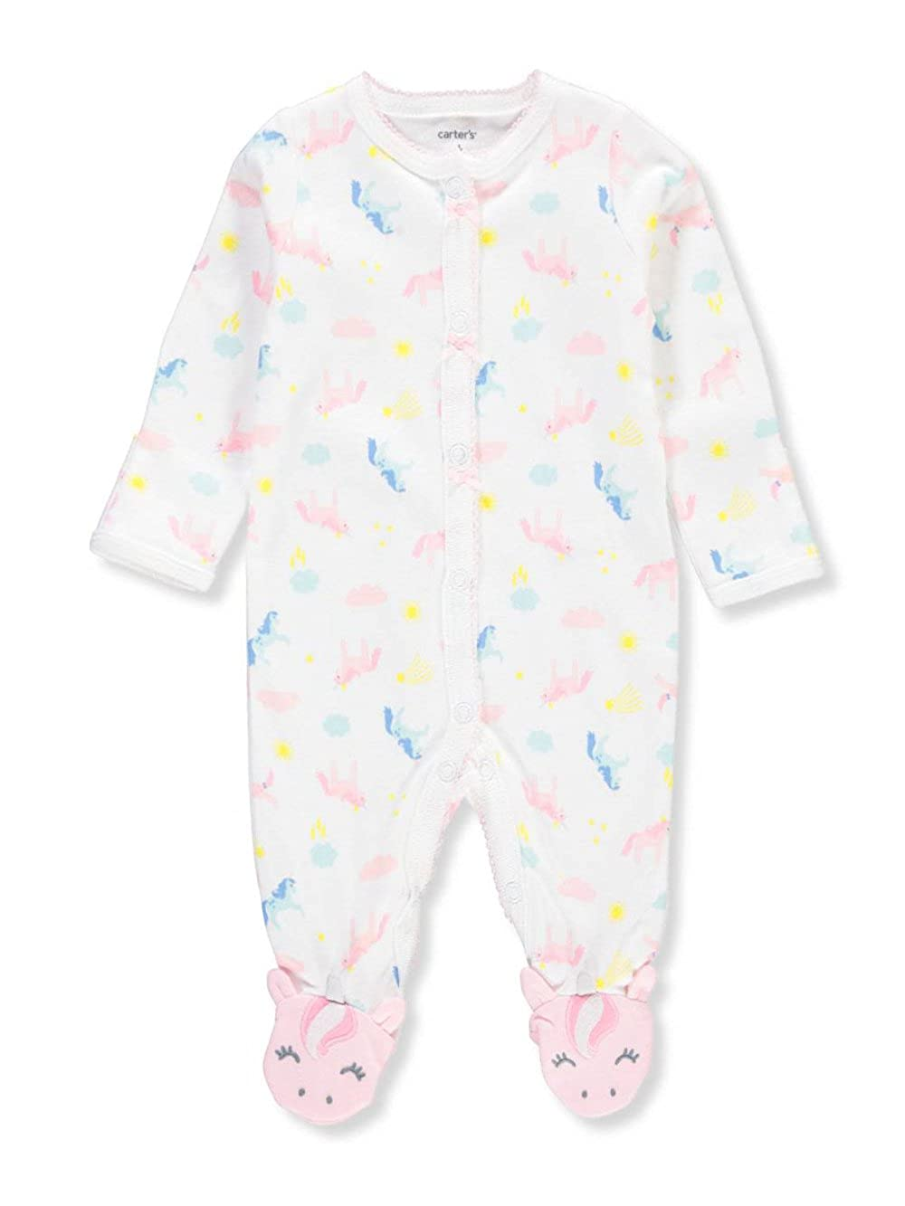 Carter's Baby Girls' Footed Coveralls Carter's